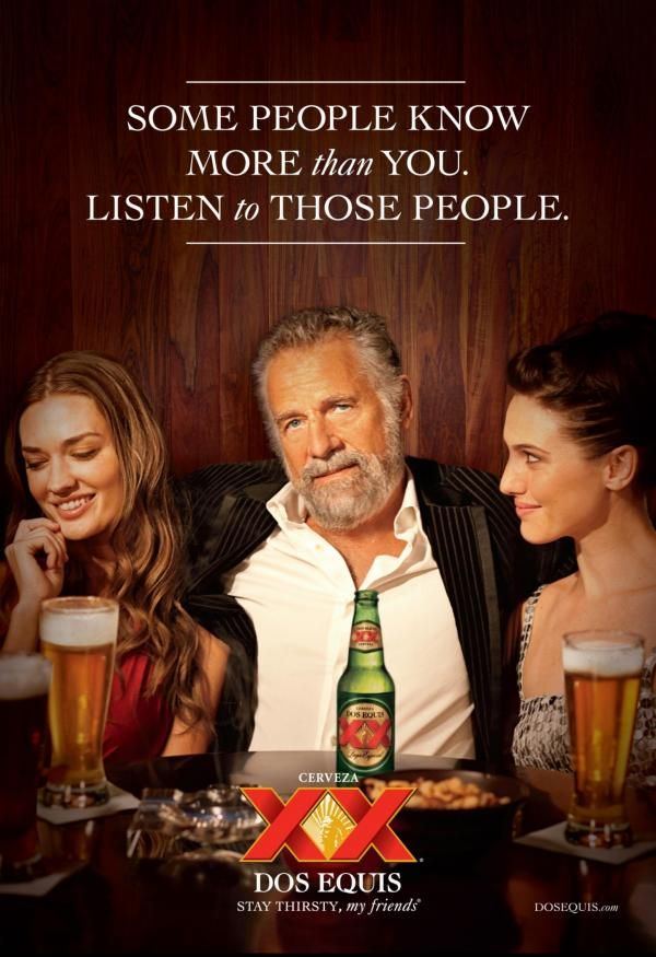 will the most interesting man in the world please come back
