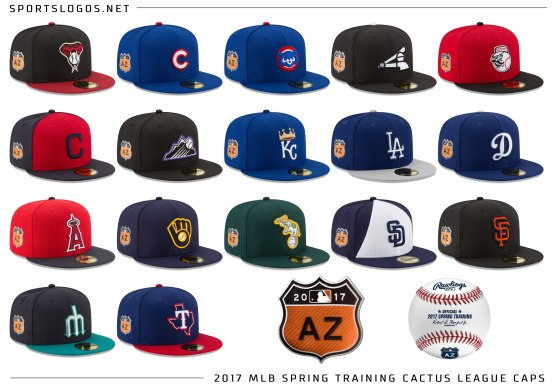 2017-mlb-spring-training-caps-cactus-league