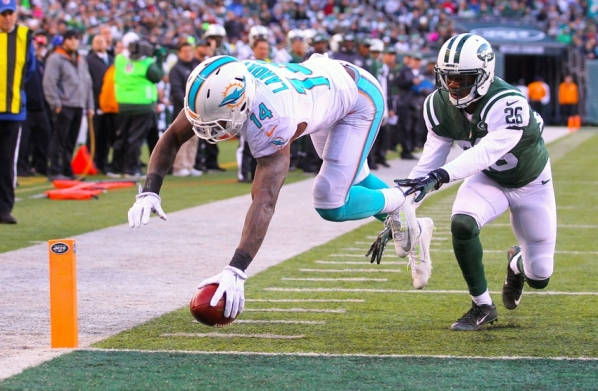 jarvis-landry-darrin-walls-nfl-miami-dolphins-new-york-jets