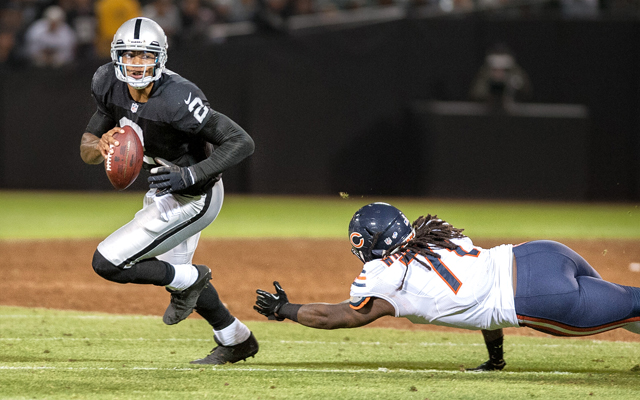 NFL: Preseason-Chicago Bears at Oakland Raiders