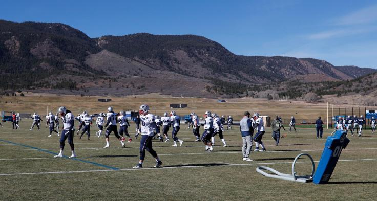 New England Patriots,Air Force Academy